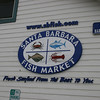 Santa Barbara Fish Market, home of a seemingly dependable supply of white meat salmon.