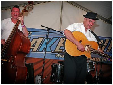 Shakedown 2012 - Gene Gambler & The Shufflers on Sunday night