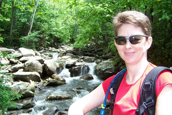 Day 2 - we hike the strenuous but scenic Ramsey Cascades trail.