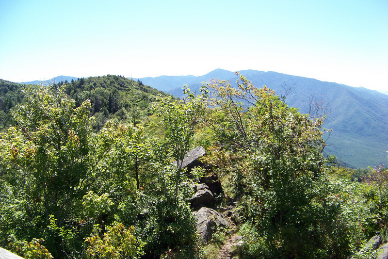 From the fire tower we have a 360 degree view.