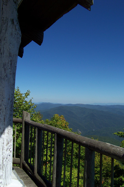 Another view from the Mt. Cammerer fire tower.