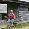 A visit to the latrine at the Mt. LeConte lodge is a necessity before starting our return hike; the trail is too full of hikers and too devoid of safe places to leave the trail.