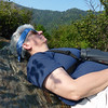 Jeane power naps on the heath bald.