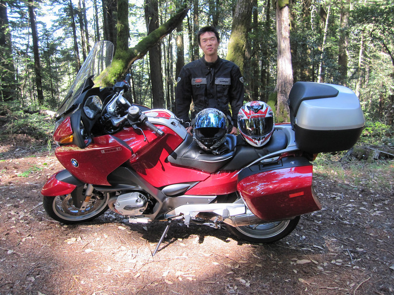 Yuki and the R1200.  I think the bike makes him look better.