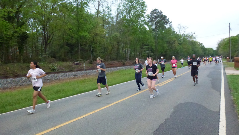 Cherry Blossom 5K Road Race 2012 (Macon, Ga)