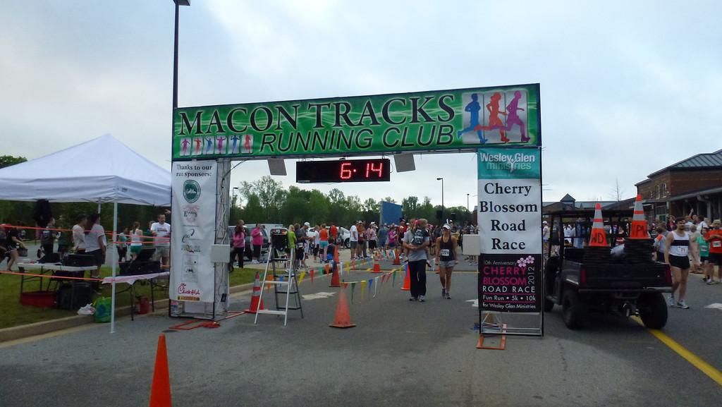 Cherry Blossom 5K Road Race 2012 (Macon, Ga)