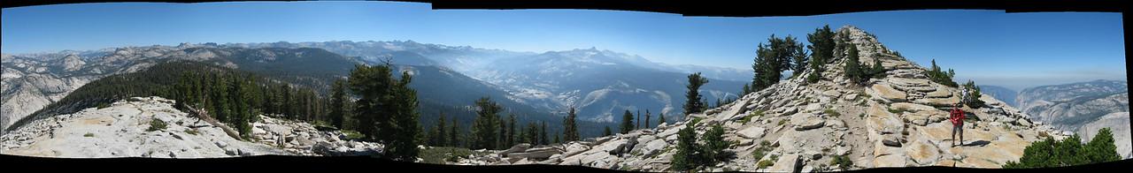 Cloud's Rest, looking N. towards Mt. Dana?  etc...