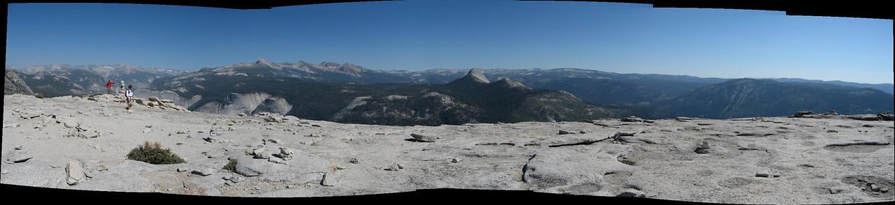 Half Dome looking North
