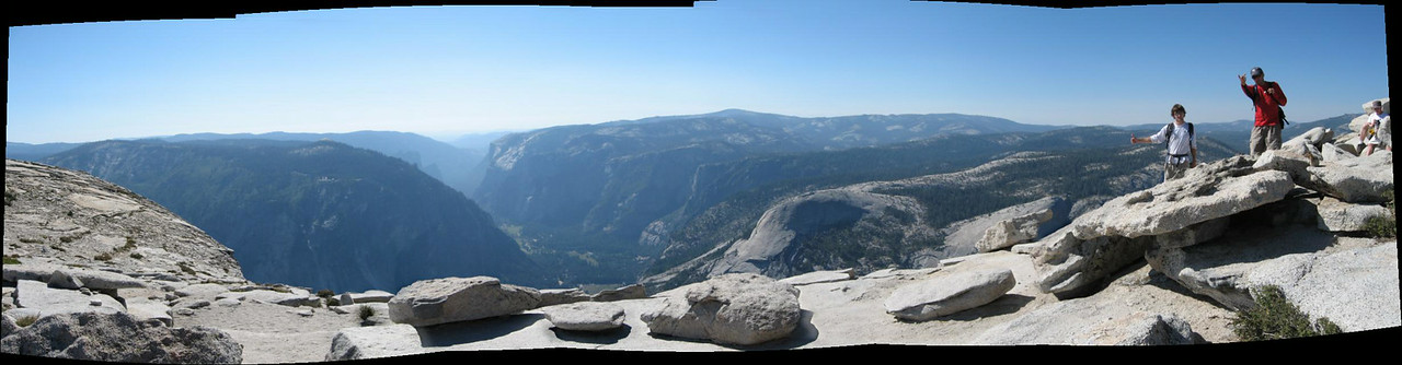 Half Dome...Kevin is so immature.