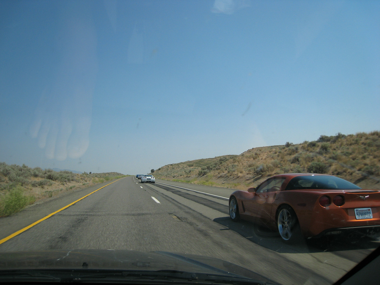 "We passed the Reno Corvette club on the way... while listening to Click and Clack.  <br /> <br /> <a href=""http://www.renocorvettes.com/"">http://www.renocorvettes.com/</a>"