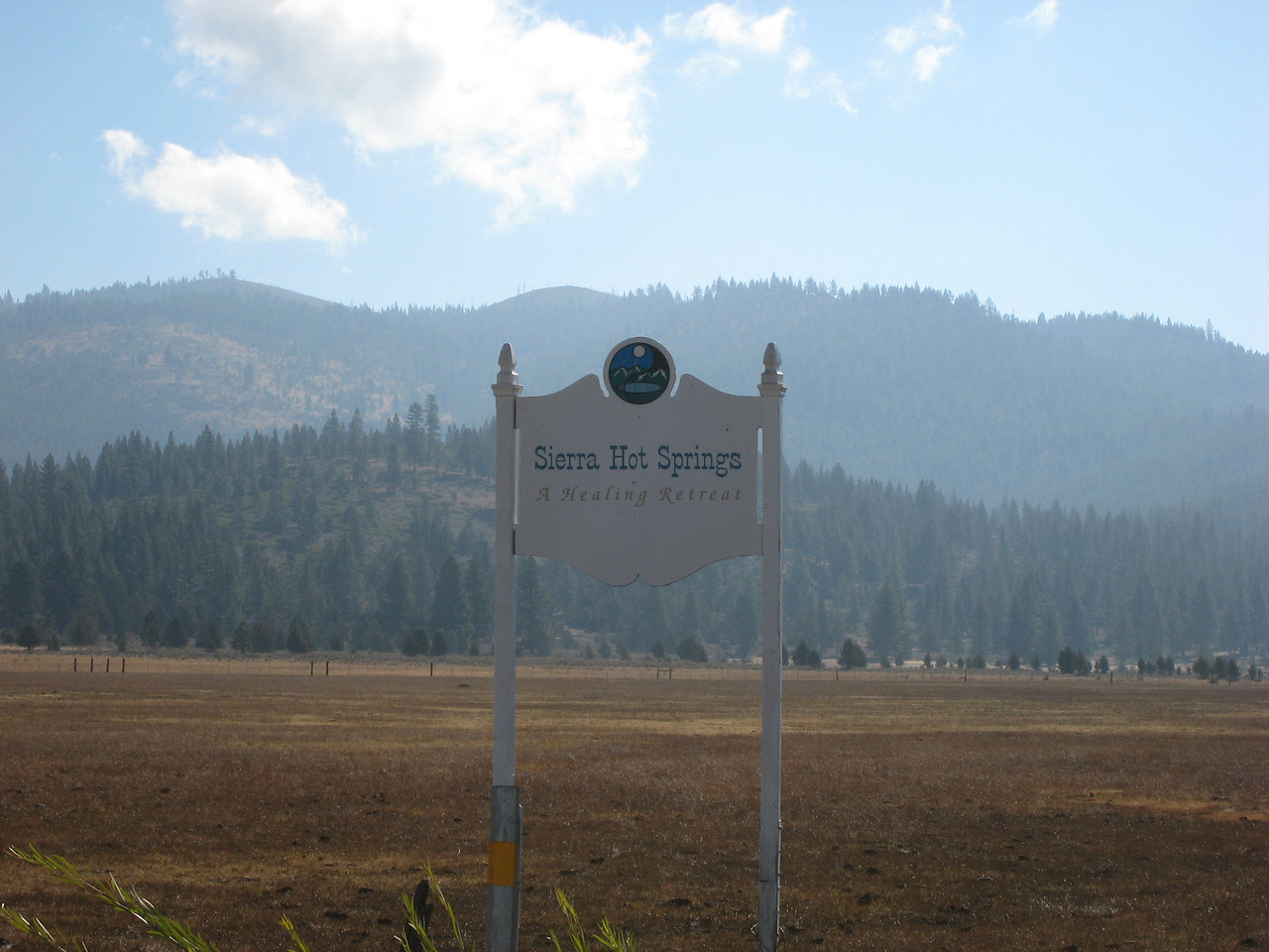 """Sierra Hot Springs.  <a href=""""http://www.sierrahotsprings.org/"""">http://www.sierrahotsprings.org/</a><br /> <br /> In the middle of nowhere.  Actually, you pass an airport on the way... with a nice dirt parking lot."""