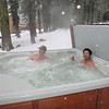 Meanwhile... back at the hot tub...