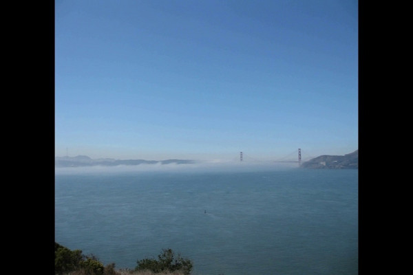 From Angel Island...