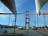 Driving over the GG bridge to our site...