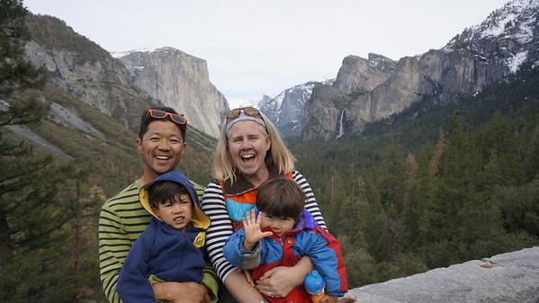 Yosemite w/the Craigs (Feb 19-21, 2016)