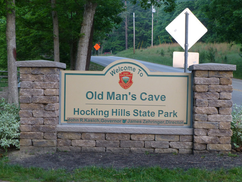 Old Man's Cave, Hocking Hills State Park, Ohio