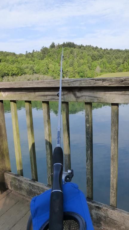 Fishing at Black Rock Lake