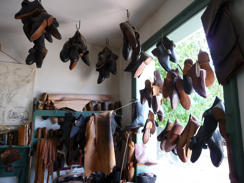 Shoemaker's Shop - Colonial Williamsburg