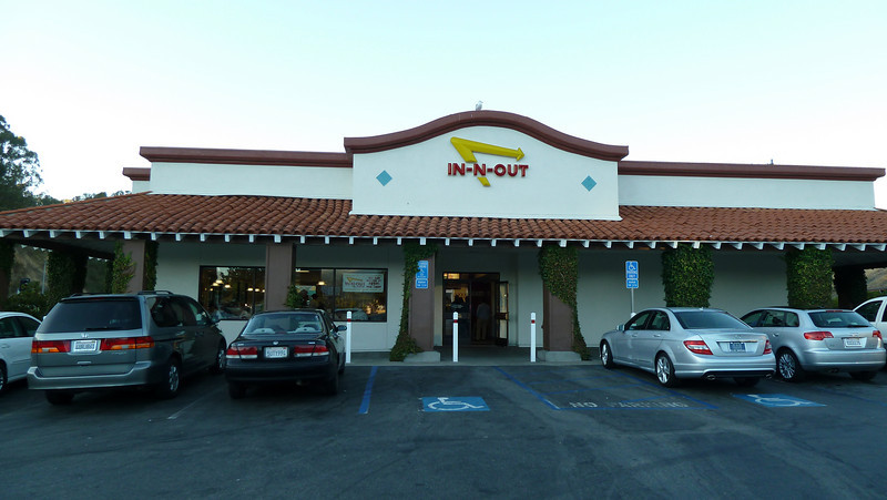 IN-N-OUT in California.
