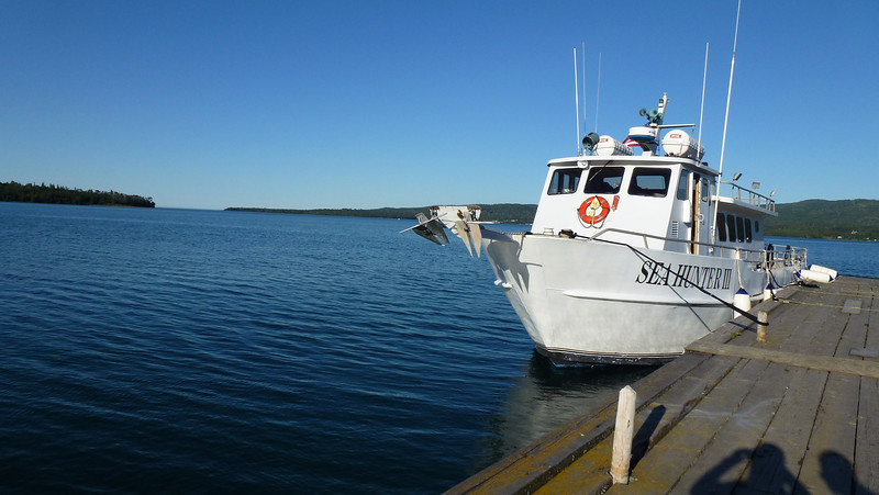Sea Hunter III ferry to Isle Royale National Park