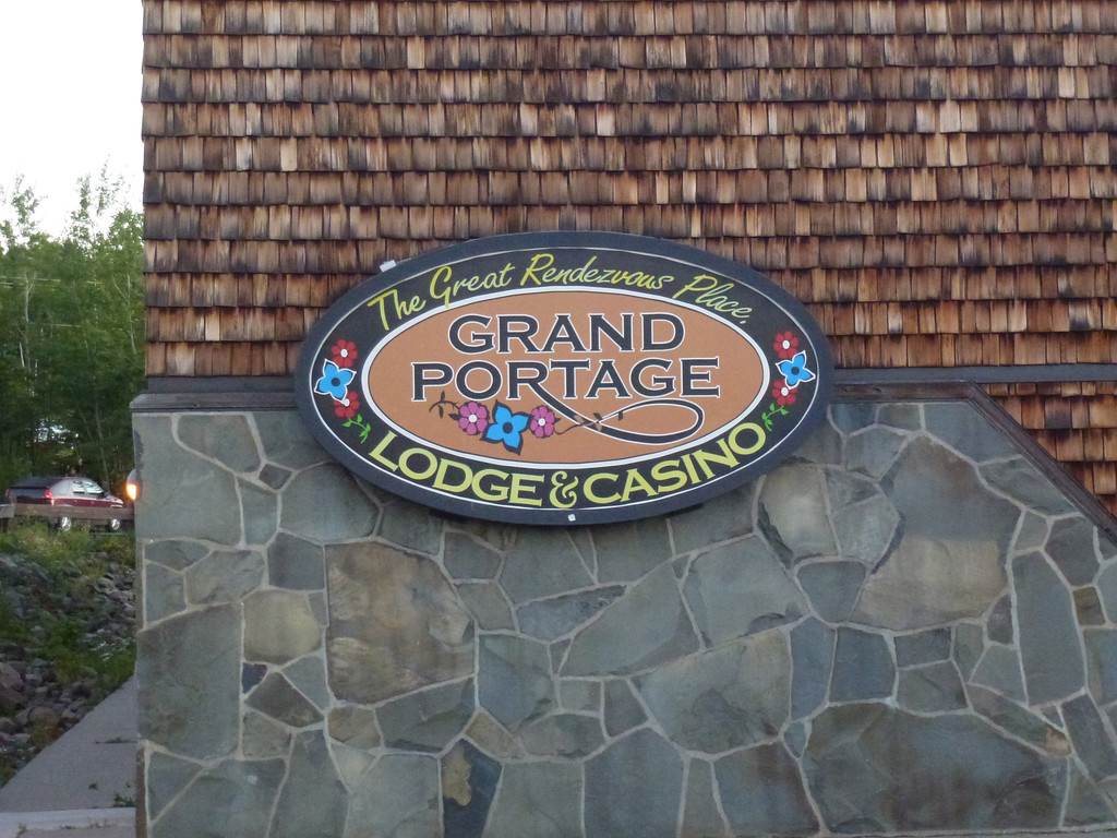 Grand Portage Lodge & Casino (attempted to get breakfast, not open yet)