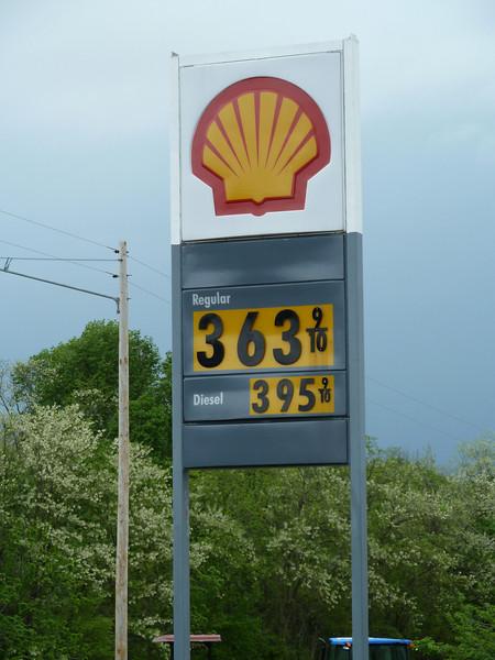 Gas Price on April 24, 2011