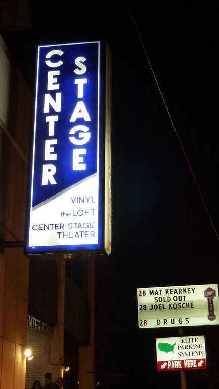 Center Stage, Atlanta, Ga (Mat Kearney) January 28, 2012