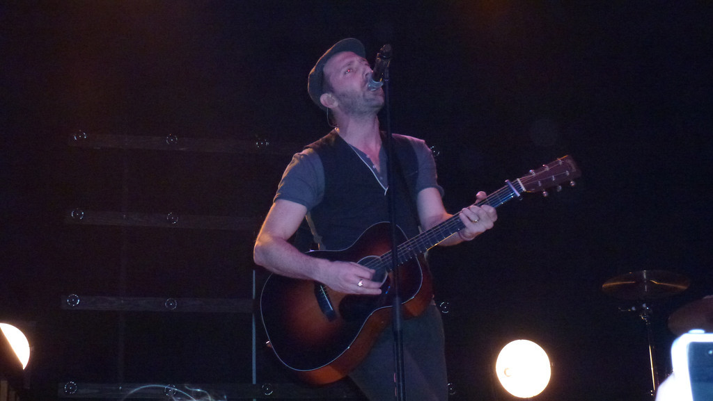 Mat Kearney (Center Stage, Atlanta, Ga) January 28, 2012