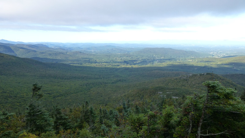 View from Mt Mansfield, VT