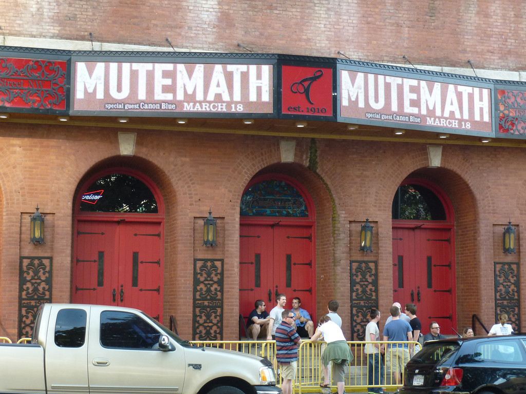 Mutemath, Tabernacle, Atlanta, GA (March 18, 2012)