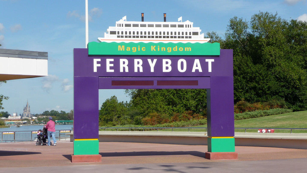 Ferry Boat Entrance, Magic Kingdom, Walt Disney World, Florida