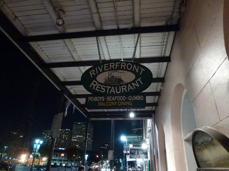 Riverfront Restaurant (Open on Thanksgiving) (New Orleans)