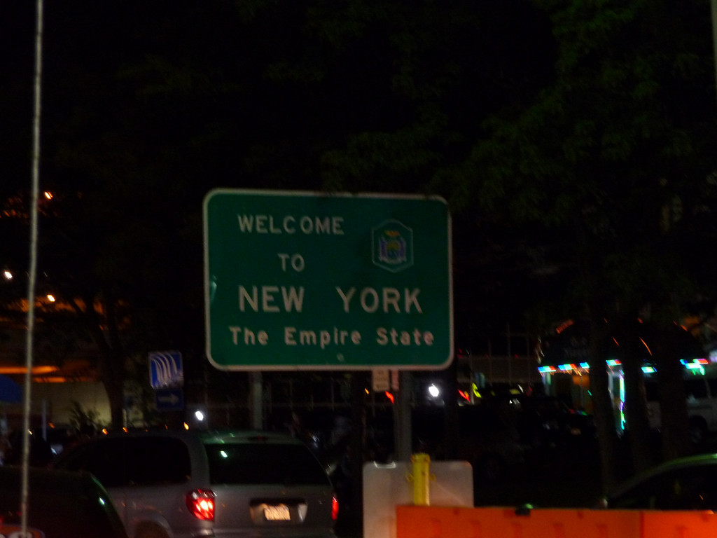 New York State Line