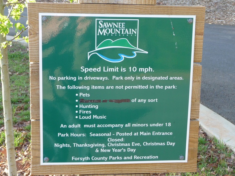 Sawnee Mountain Preserve