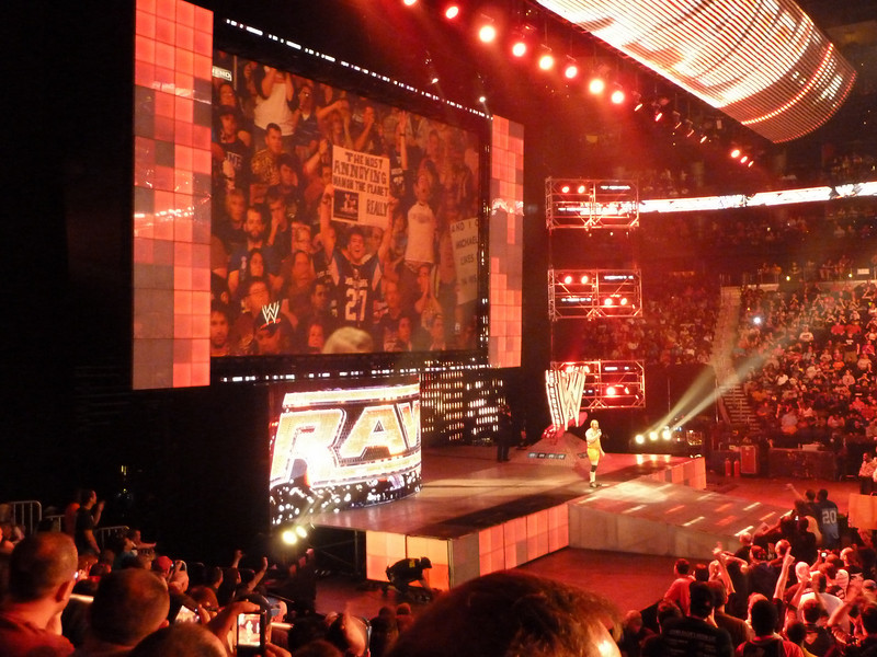 WWE RAW, Philips Arena, Atlanta, GA