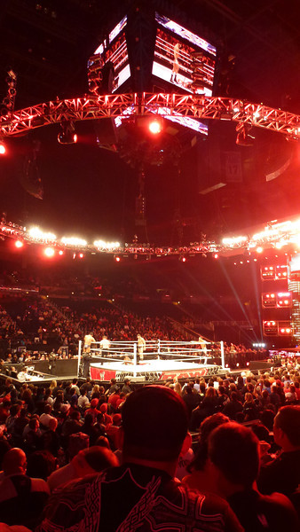WWE Raw, Phillips Arena, October 31, 2011