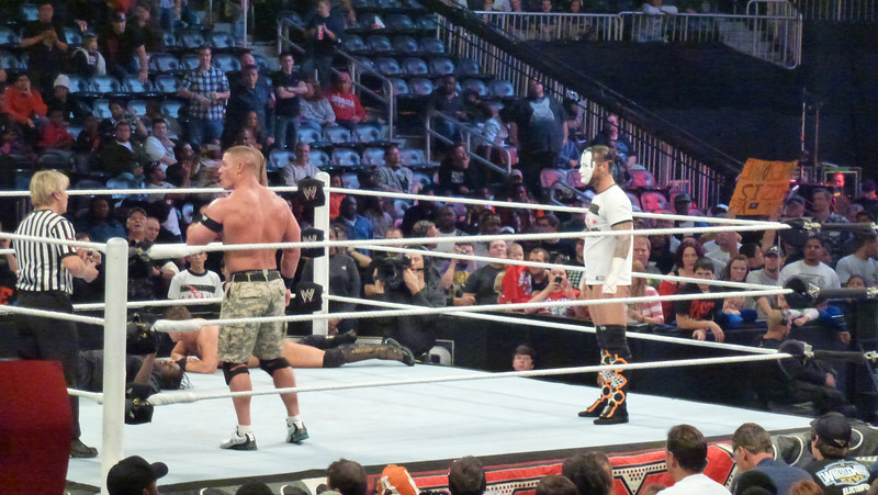 WWE Raw, Atlanta, GA (Oct 31, 2011) John Cena