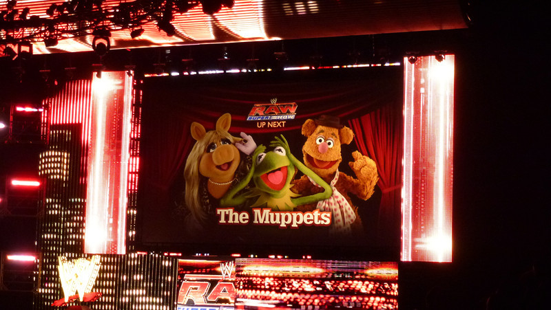 WWE Raw, Atlanta, GA (Muppets)
