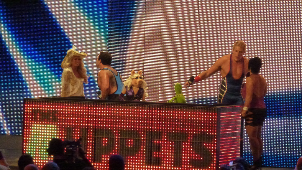 WWE Raw, Atlanta, GA (Oct 31, 2011) Muppets