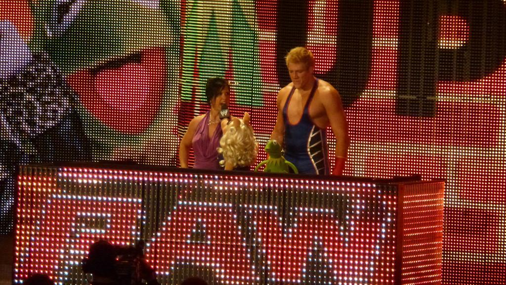 WWE Raw, October 31, 2011 (Atlanta, Ga) Muppets