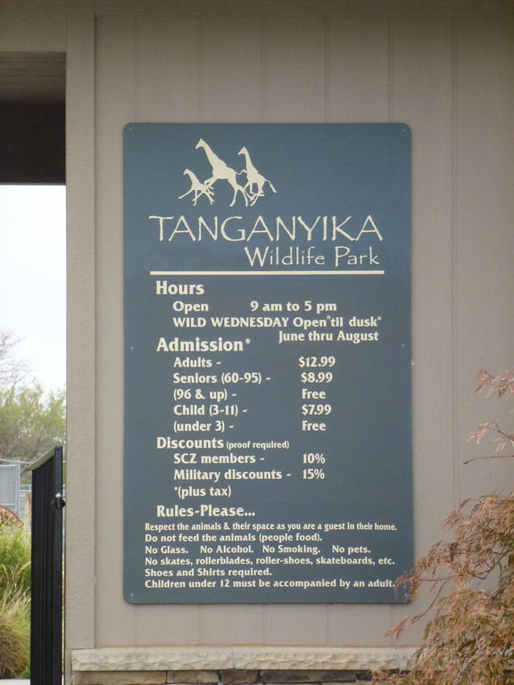 Tanganyika Wildlife Park, Kansas