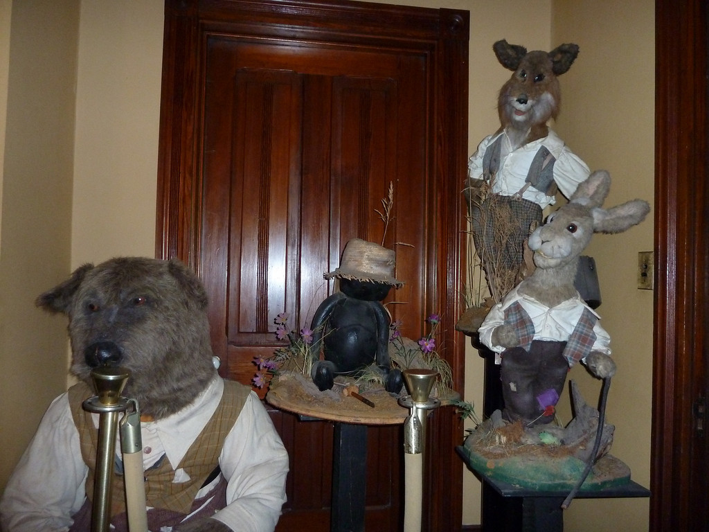 Brer Rabbit, Brer Fox, Brer Bear and Tar-Baby