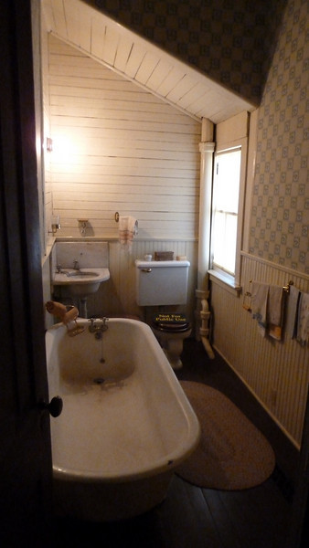The indoor bathroom Joel Chandler Harris refused to use.