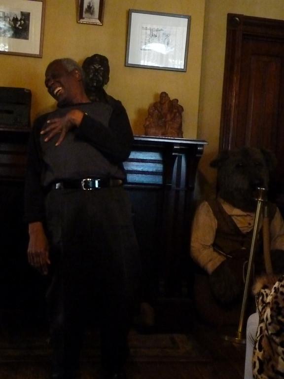 Our storyteller, Curtis Richardson, retelling one of Joel Chandler Harris' stories