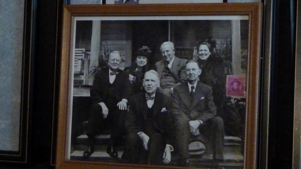 Photo of Joel Chandler Harris' children in 1948, four decades after his death.