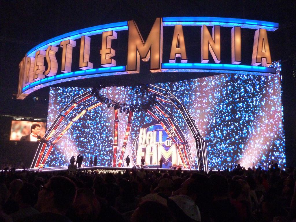 WrestleMania 27, Georgia Dome, Atlanta, GA