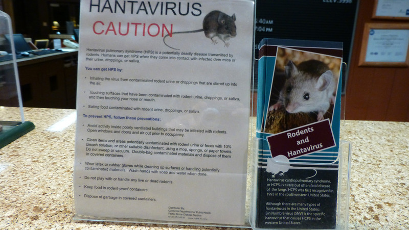 Yosemite National Park (Hantavirus Warning)