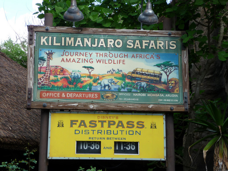 Kilimanjaro Safaris (Disney Animal Kingdom)