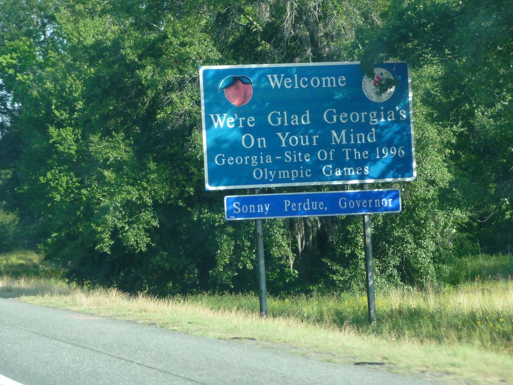 Georgia (Welcome State Road Sign)