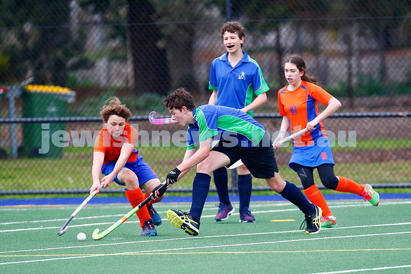 26-8-18. Maccabi Hockey U 14s. Qualifying final. Photo: Peter Haskin